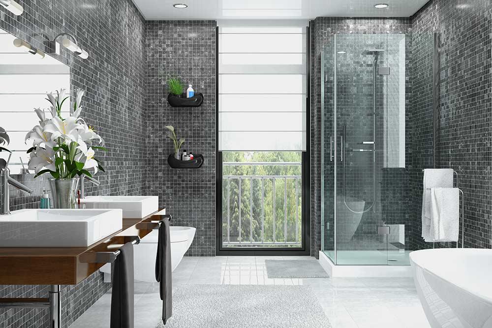 Rénovationcomplète desalle de bain près de Bordeaux